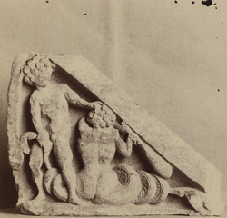 Sculpture piece from Jamal-Garhi: the so-called 'Gigantomachia'.